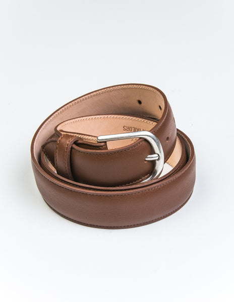 BROOKLYN TAILORS x SADDLER'S - Gange Dress Belt in Cuoio