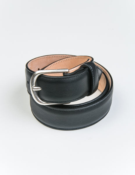 BROOKLYN TAILORS x SADDLER'S - Gange Dress Belt in Nero