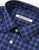 BROOKLYN TAILORS - BKT20 Dress Shirt in Navy & Blue Plaid