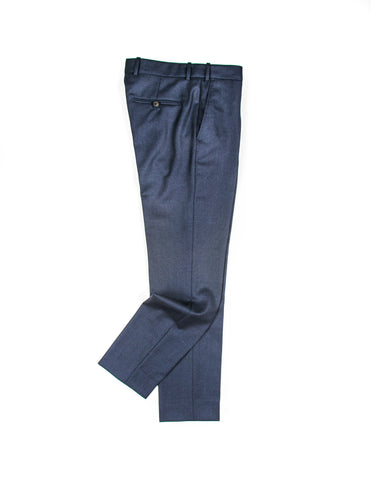 BROOKLYN TAILORS - BKT50 Trouser in Navy Birdseye Wool