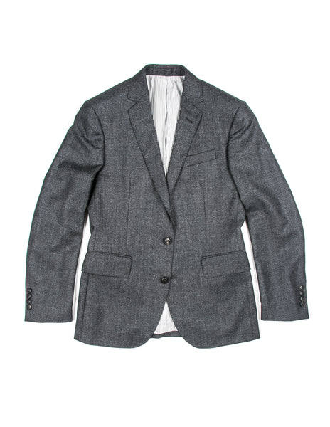 FINAL SALE - BROOKLYN TAILORS - BKT50 Jacket in Charcoal Mini Grid