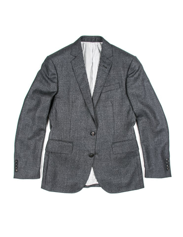 BROOKLYN TAILORS - BKT50 Jacket in Charcoal Mini Grid