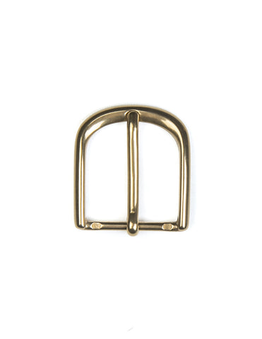 BROOKLYN TAILORS X SADDLER'S - 30 MM Slimline Buckle in Natural Brass