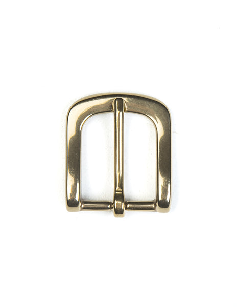 BROOKLYN TAILORS X SADDLER'S - 25 MM Buckle in Natural Brass