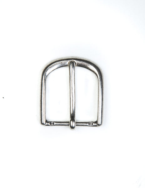 BROOKLYN TAILORS X SADDLER'S - 30 MM Slimline Buckle in Old Silver Finished