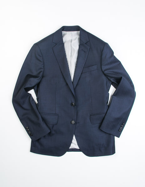 FINAL SALE: BROOKLYN TAILORS - BKT50 Jacket in Navy Herringbone