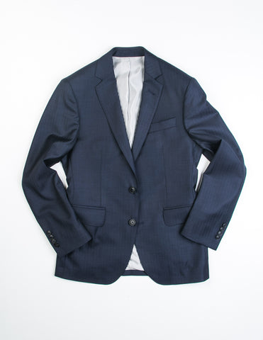 BROOKLYN TAILORS - BKT50 Jacket in Navy Herringbone