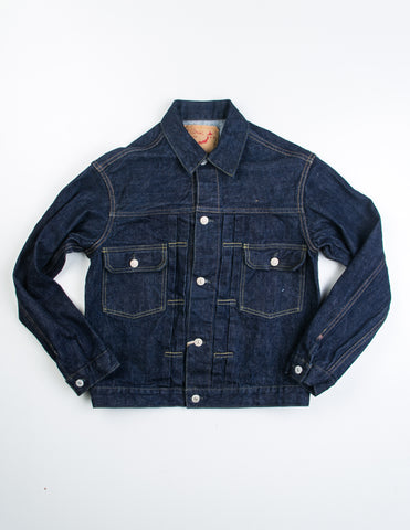 Orslow - 50s Denim Jacket One Wash in Indigo