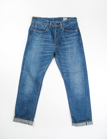 ORSLOW- 107 Ivy Fit Denim 2 Year Wash Jean in Indigo
