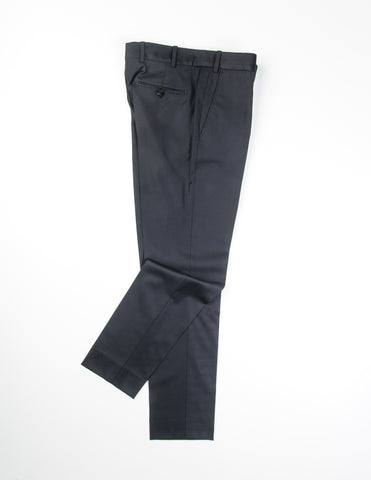 BROOKLYN TAILORS - BKT50 Trousers in Black Twill