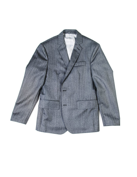 SAMPLE ROOM: BROOKLYN TAILORS - Gray Herringbone Jacket sz. 3
