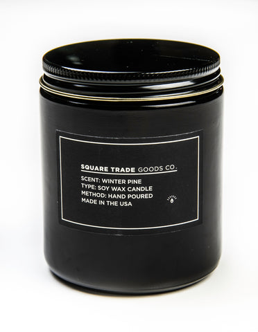 SQUARE TRADE GOODS CO -  Winter Pine Candle