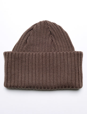 BATONER - Knit Cap in Brown