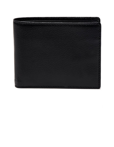ETTINGER - Capra Bifold Wallet with 6 C/C in Black