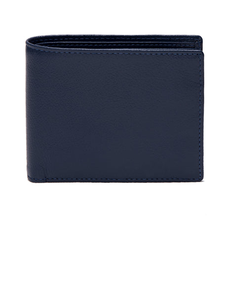 ETTINGER - Capra Bifold Wallet with 6 C/C in Marine Blue