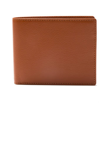 ETTINGER - Capra Bifold Wallet with 6 C/C in Tan