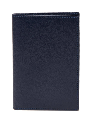 ETTINGER - Capra Passport Case in Marine Blue