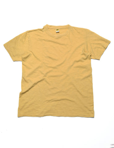 FINAL SALE: VELVA SHEEN - Crewneck T-Shirt in Canary