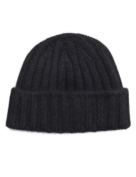 CABLEAMI - Cashmere Beanie - Black
