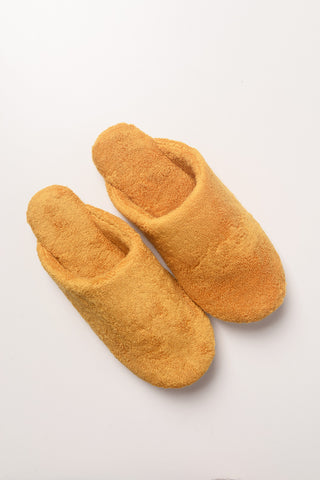 Thing Fabrics - House Slippers in Marigold