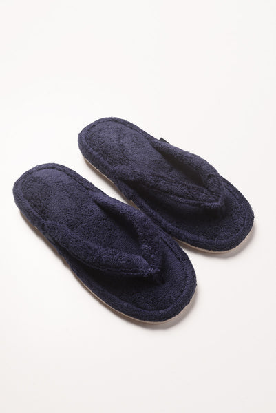 Thing Fabrics - House Sandals in Navy