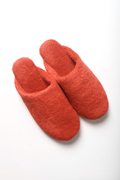 Thing Fabrics - House Slippers in Red