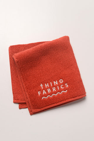 Thing Fabrics - Hand Towel in Red
