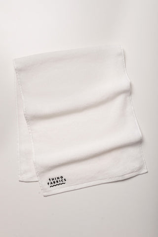 Thing Fabrics - Face Towel in White