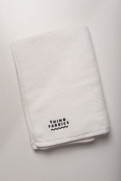 Thing Fabrics - Bath Towel in White