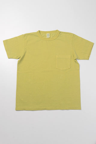 VELVA SHEEN - Pocket Tee in Key Lime