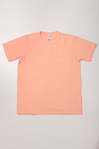 VELVA SHEEN - Pocket Tee in Sunrise