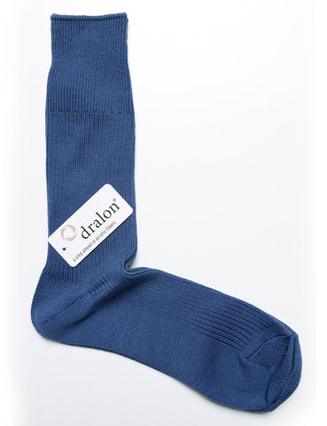 ANONYMOUS ISM - Brilliant Crew Socks - Cyan