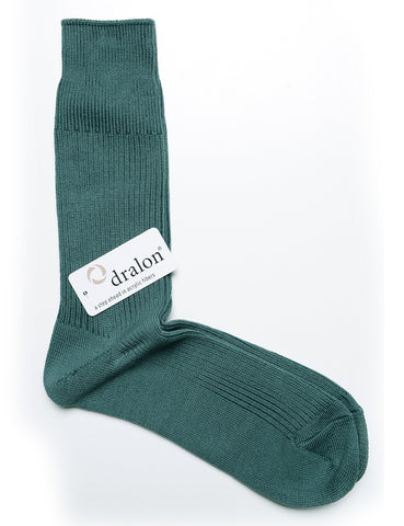 ANONYMOUS ISM - Crew Socks in Brilliant - Sea Green