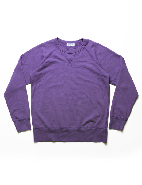 VELVA SHEEN - 10 oz Raglan Sweatshirt in Purple