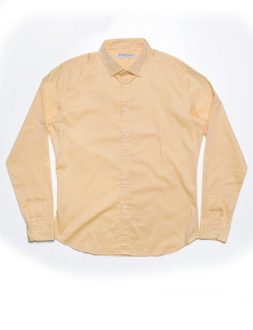 FINAL SALE - BROOKLYN TAILORS - BKT20 Dress Shirt in Pinpoint - Canary