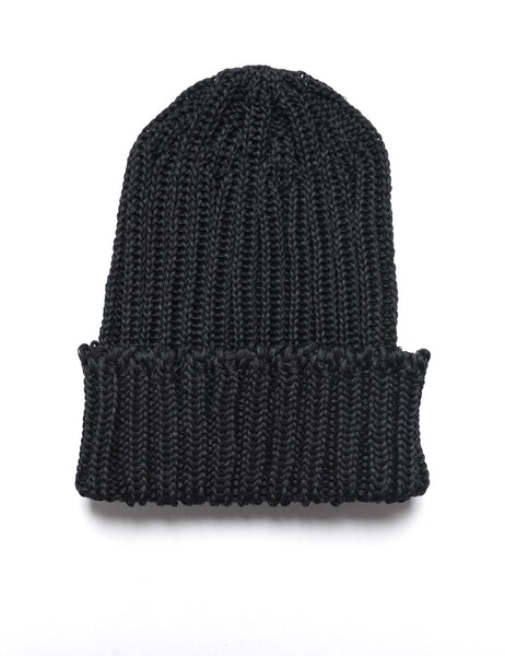 CABLEAMI - Crisp Organic Cotton Hat - Black