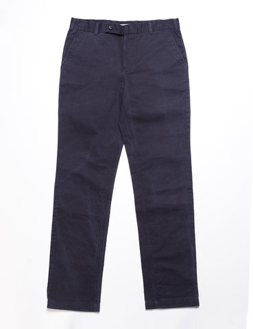 FINAL SALE: BKT30 Slim Chino in Washed Cotton - Navy