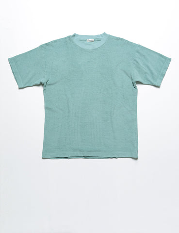 CAMOSHITA - French Terry T-Shirt in Mint