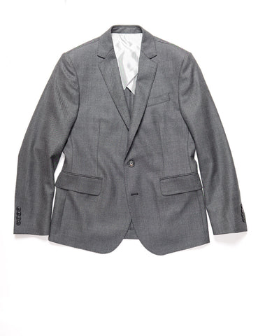 BROOKLYN TAILORS - BKT50 Tailored Jacket in Birdseye Weave - Storm Gray