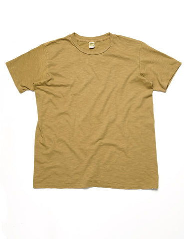 VELVA SHEEN - Crewneck T-Shirt in Mustard
