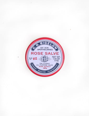 C.O. BIGELOW ROSE SALVE NO.012