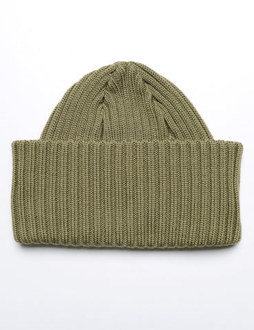 BATONER - Knit Cap in Olive