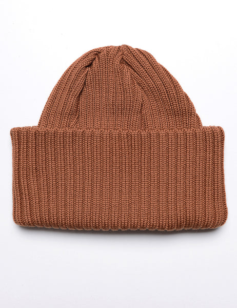 BATONER - Knit Cap in Rust