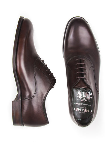 JOSEPH CHEANEY - Welland Oxford Shoes in Mocca Calf Leather