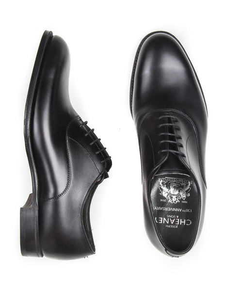 FINAL SALE: JOSEPH CHEANEY - Welland Oxford Shoes in Black Calf Leather