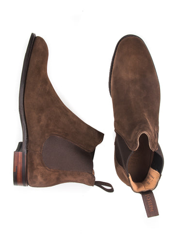 JOSEPH CHEANEY - Godfrey Chelsea Boots  in Plough Suede Leather