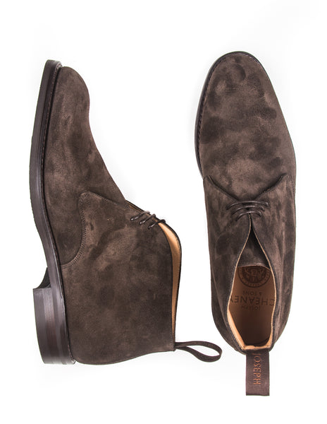 JOSEPH CHEANEY - Jackie III Chukka Boots  in Pony Suede