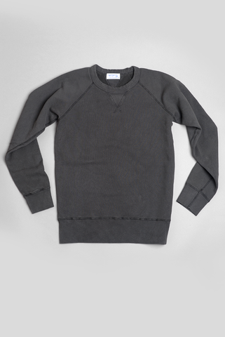 VELVA SHEEN - 10 oz Raglan Sweatshirt in Black