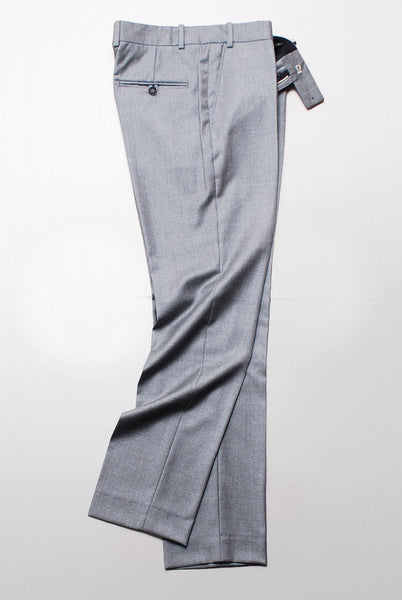 BROOKLYN TAILORS - Tailored Trouser - Dove Grey Twill Super 110s
