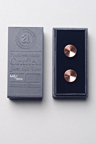 ALICE MADE THIS - Alexander Cufflinks in Copper